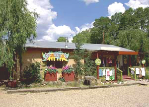 Taos New Mexico area women's clothing store features unique casual clothing, jewelry, hats, sandals and more at affordable prices. Just the place to find that perfect outfit for summers in Taos!